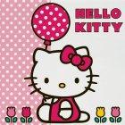 20 Serviettes Hello Kitty Tulipe