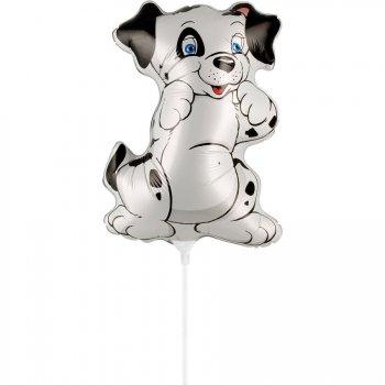 Ballon sur Tige Chien Dalmatien