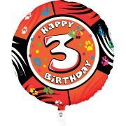 Ballon H�lium Animalon 3 ans
