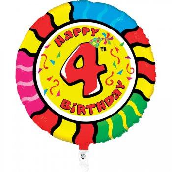 Ballon Hélium Animalon 4 ans