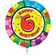 Ballon Hélium Animalon 6 ans