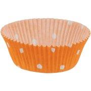 30 Caissettes à pois Orange