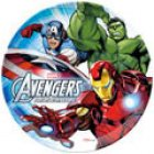 Assiette plate Avengers en Polypropylène