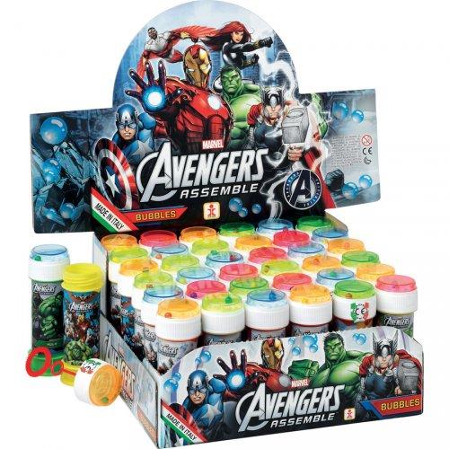 Bulle de Savon Avengers avec jeu de patience