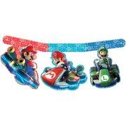 Banni�re Happy Birthday Mario Kart