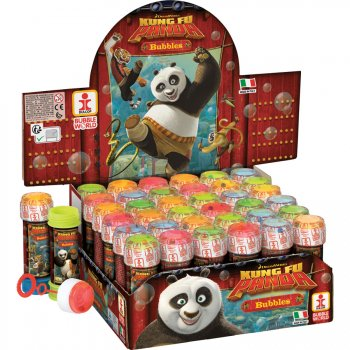 Bulle de Savon kung Fu panda avec Jeu de Patience