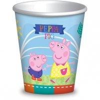 Contient : 1 x 8 Gobelets Peppa Pig Summer