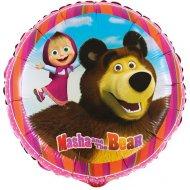 Ballon Hélium Masha et Michka