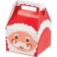 6 Mini Boîtes Cadeaux Père Noël