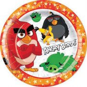 8 Assiettes Angry Birds Le film