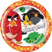 8 Petites Assiettes Angry Birds Le film