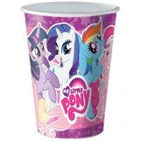 Contient : 1 x 8 Gobelets My Little Pony Rainbow