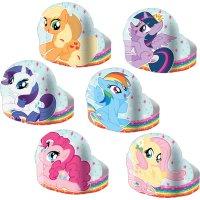 Contient : 1 x 6 Chapeaux My Little Pony Rainbow