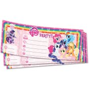 Carnet 20 Invitations My Little Pony