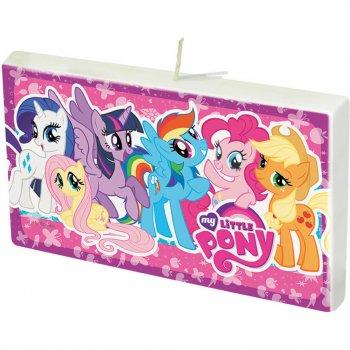 Bougie My Little Pony Rainbow (8,5 cm)
