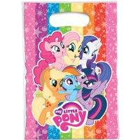 Contient : 1 x 6 Pochettes Cadeaux My Little Pony Rainbow