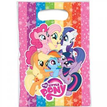 6 Pochettes Cadeaux My Little Pony Rainbow