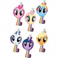 6 Sans-Gênes My Little Pony Rainbow