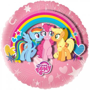 Ballon à Plat My Little Pony Rainbow