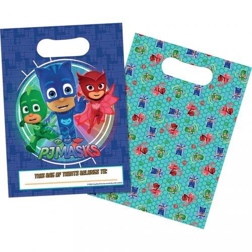 8 Pochettes Cadeaux Pyjamasques Héros