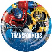 8 Petites Assiettes Transformers