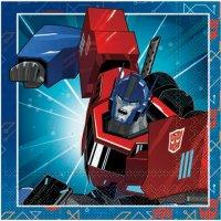 Contient : 1 x 16 Serviettes Transformers