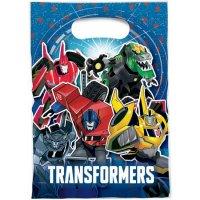 Contient : 1 x 6 Pochettes Cadeaux Transformers