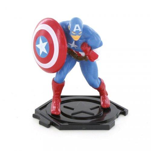 Figurine Capitaine America (8,5 cm) - Plastique
