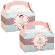 4 Boîtes Cadeaux Petite Ballerine
