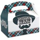 4 Boîtes Cadeaux Little Man Moustache