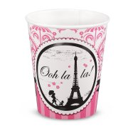 8 Gobelets Paris �l�gance