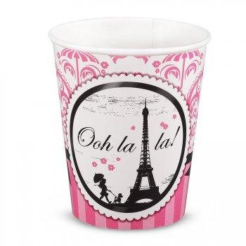 8 Gobelets Paris Élégance