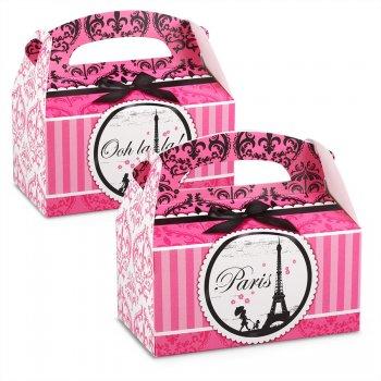 4 Boîtes Cadeaux Paris Élégance