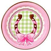 8 Petites Assiettes Cowgirl Rosie