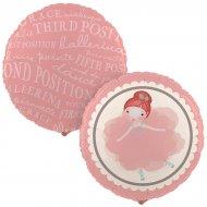 Ballon Mylar Petite Ballerine
