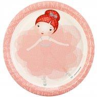 8 Assiettes Petite Ballerine