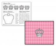 4 Sets de Table ludiques Princesse Élégance