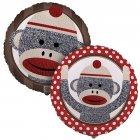 Ballon Mylar Sock Monkey