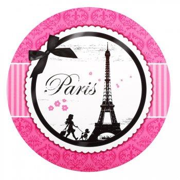 4 Sets de Table ludiques Paris Élégance