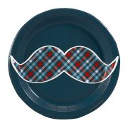 8 Petites Assiettes Little Man Moustache