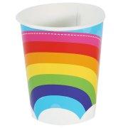 8 Gobelets Rainbow Party