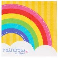20 Serviettes Rainbow Party