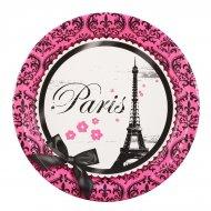 8 Assiettes Paris Élégance