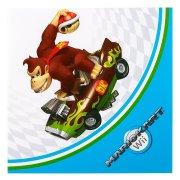 16 Serviettes Mario Kart Wii