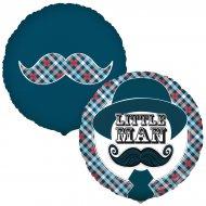 Ballon Mylar Little Man Moustache