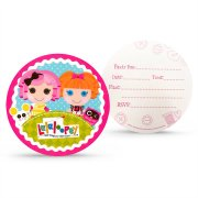 8 Invitations Lalaloopsy