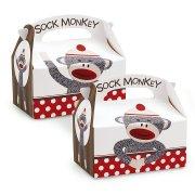 4 Bo�tes Cadeaux Sock Monkey
