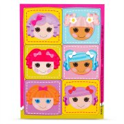 4 Planches de Stickers Lalaloopsy