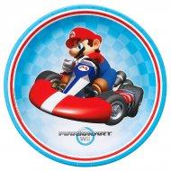 8 Assiettes Mario Kart Wii