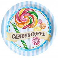 8 Assiettes Candy Shoppe